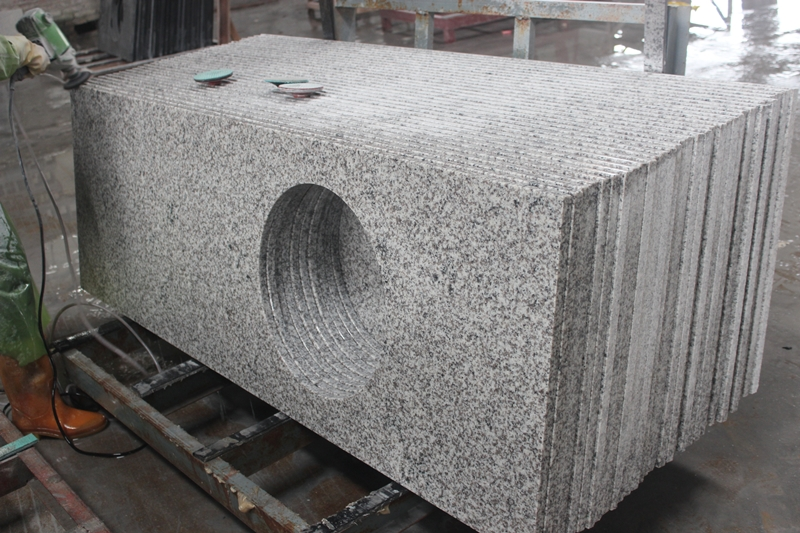 Countertop white granite