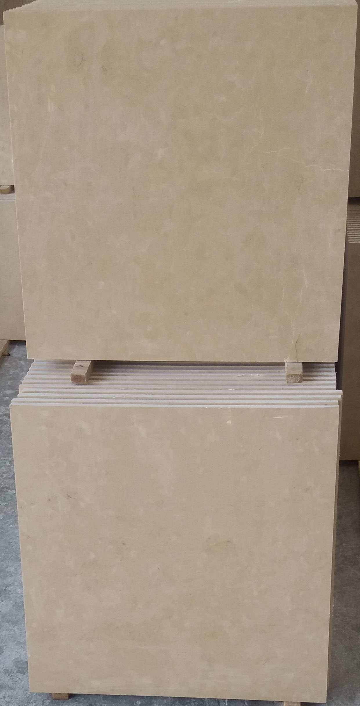 Cream Marble Tiles Iranian Polished Beige Marble Tiles