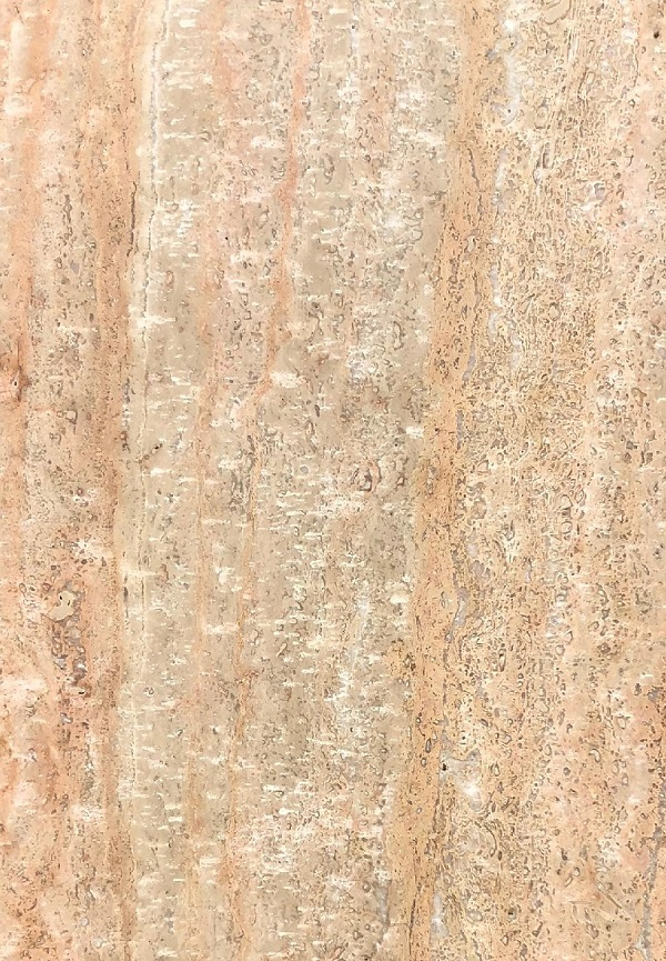 Cream Pink Vein cut Travertine