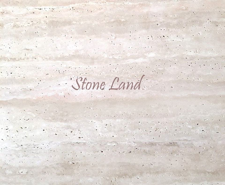 Creamy White Travertine