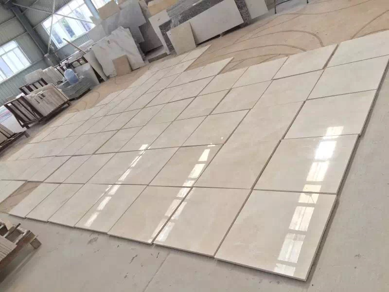Crema Ella Baiyulan Marble Tiles for Wall or Floor Covering