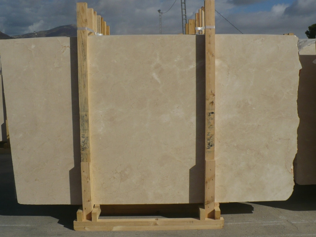 Spain Crema Marfil Marble Slabs High Grade