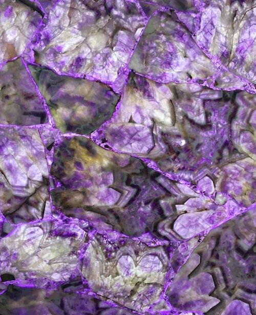 Semiprecious Stone Crystal Amethyst