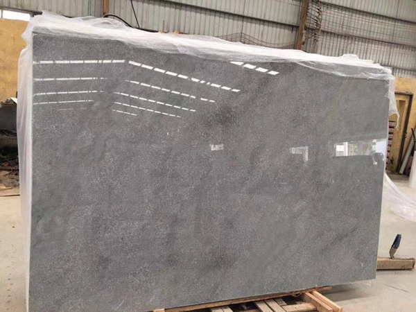 China Crystal Grey Marble Slab