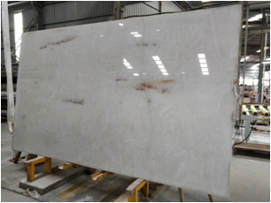 Crystal White Quartzite Slabs for Interior Design