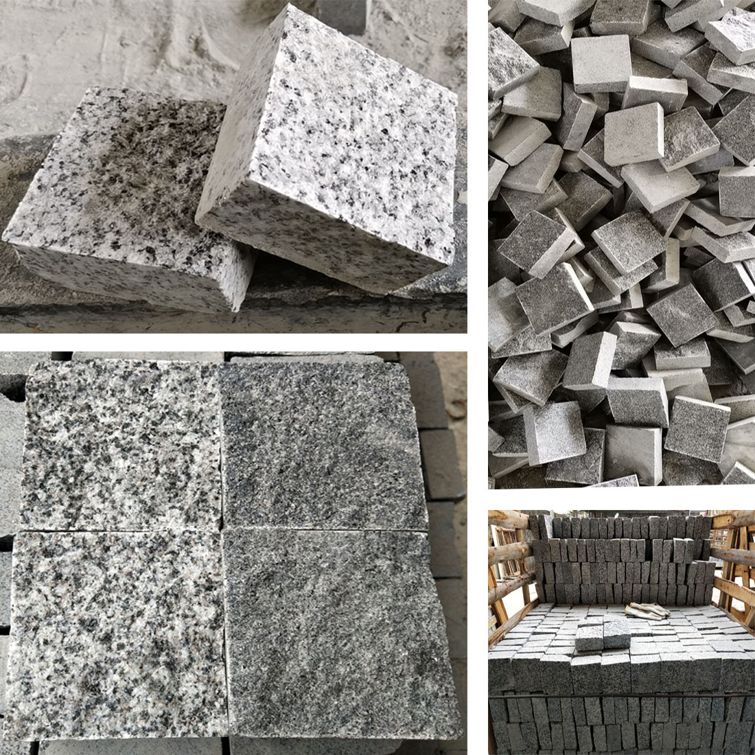 10x10X5CM Cube Granite (Two colors available)