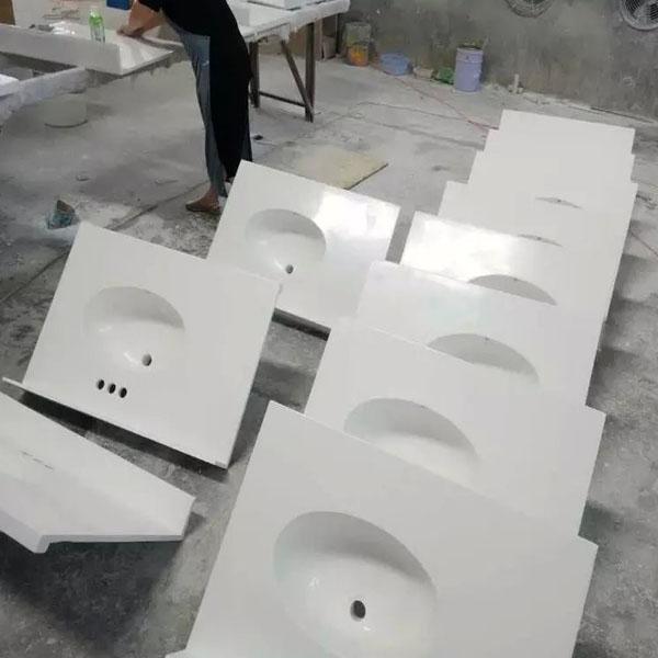 Standard Cultured marble vanity top