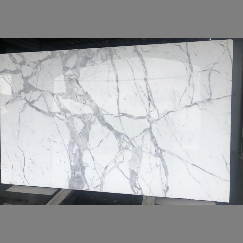 Top Quality Calacatta White Marble Slab