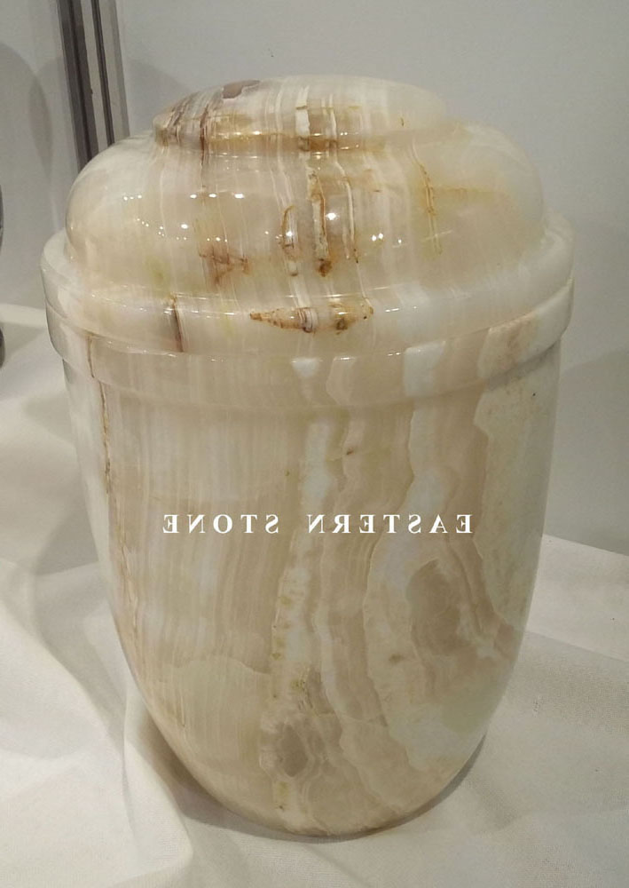 ONYX  MARBLE STONE CREMATION URNS