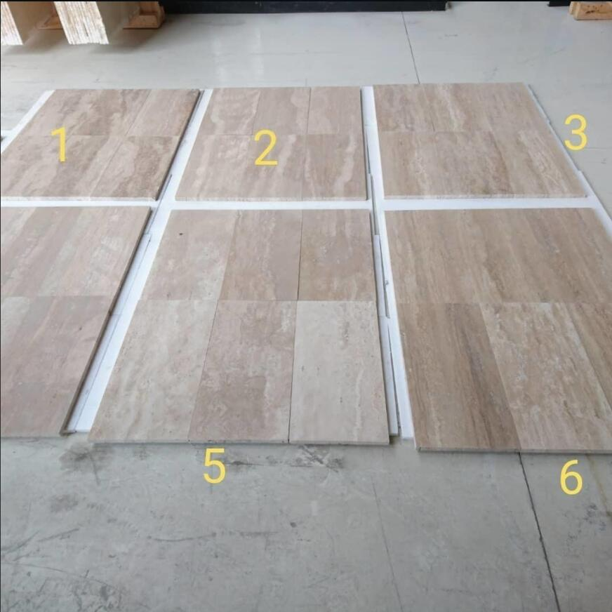DENiZLi TRAVERTINE VEINCUT TILE