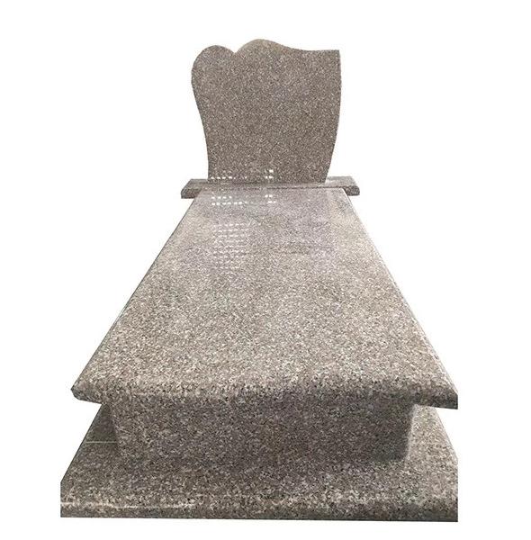 Modern Granite Cemetery Headstone Design For Sale