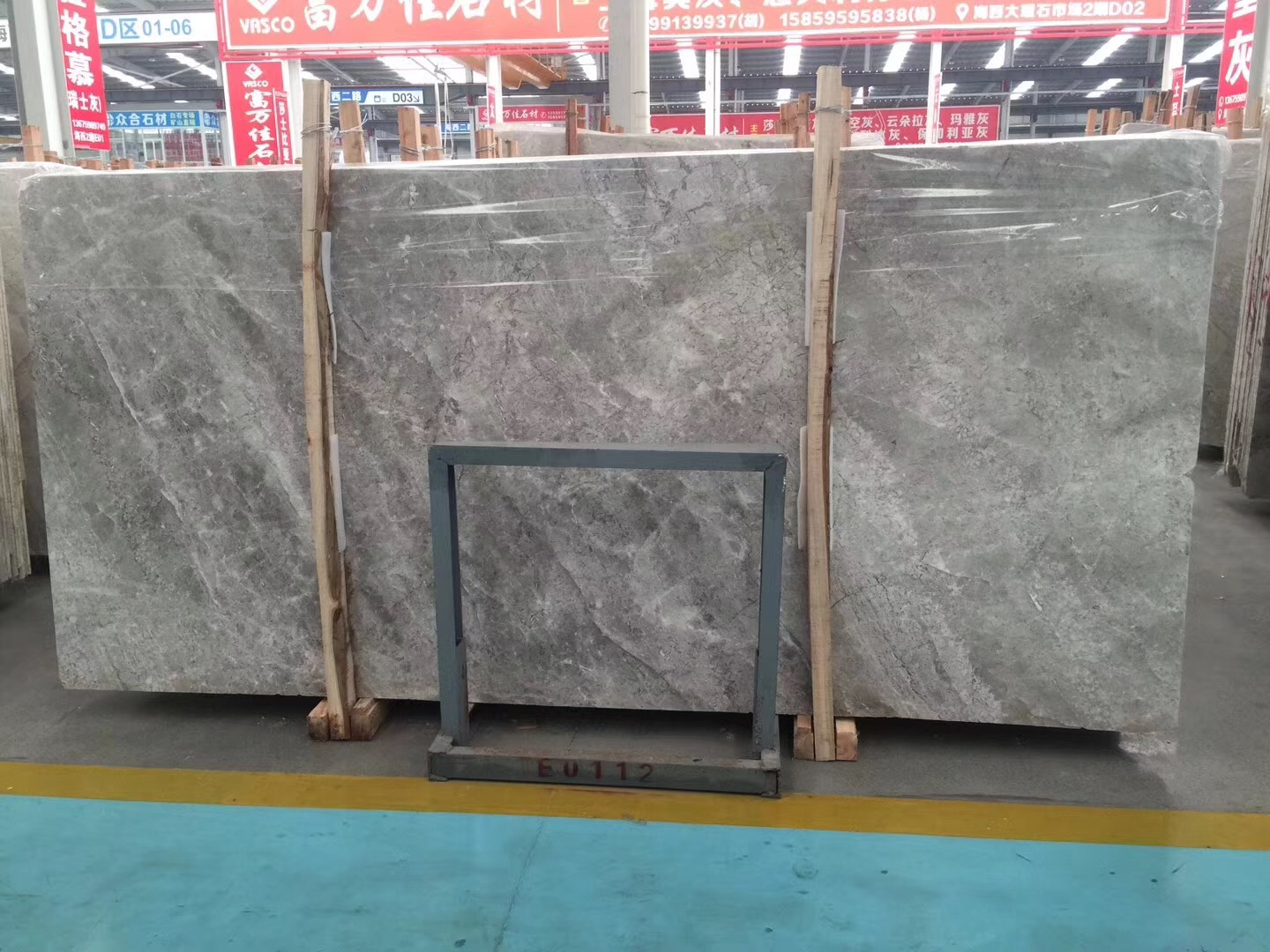 DORA grey cloud marble slabs 1.6cm 1.8cm 2cm processing