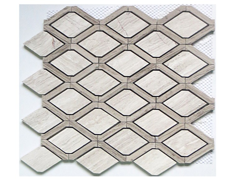Marble Mosaic Ruby Waterjet