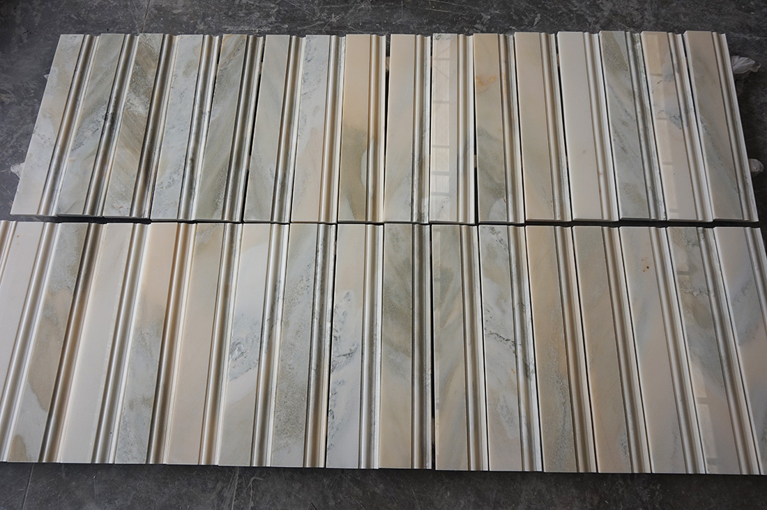 Marble line molding