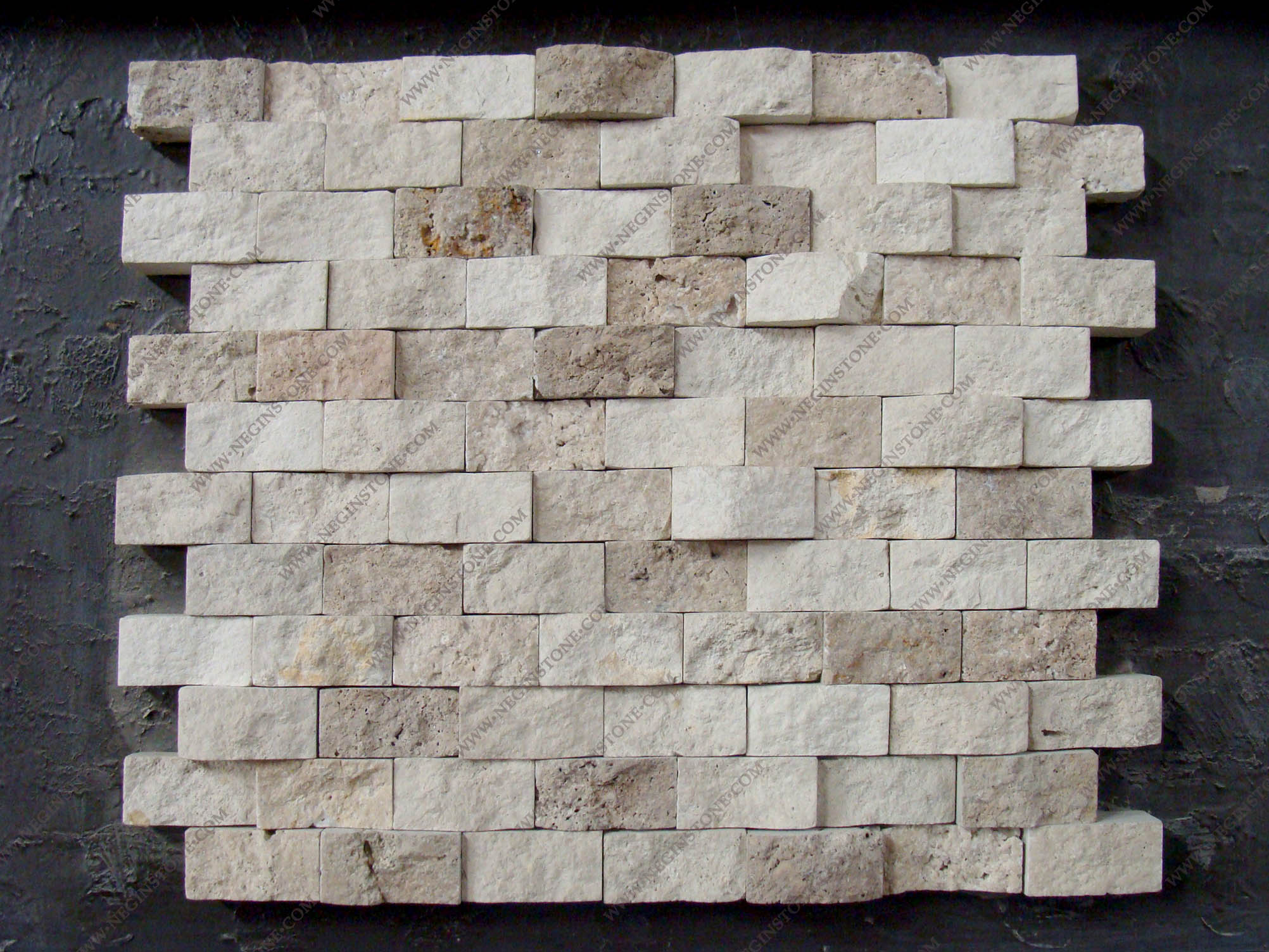 travertine split