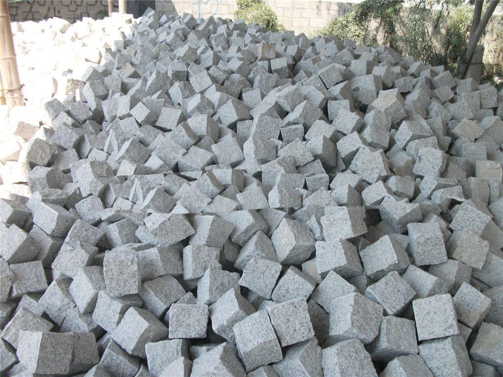 China G603 Grey Granite Cubestone Pavers