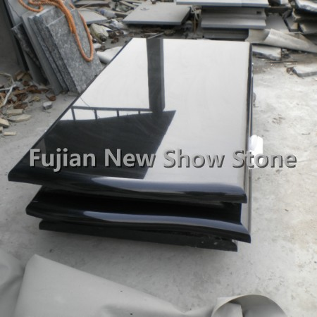 Shanxi Black Granite Gravestone