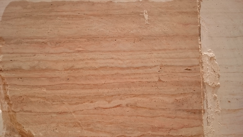 Cream Pink Travertine