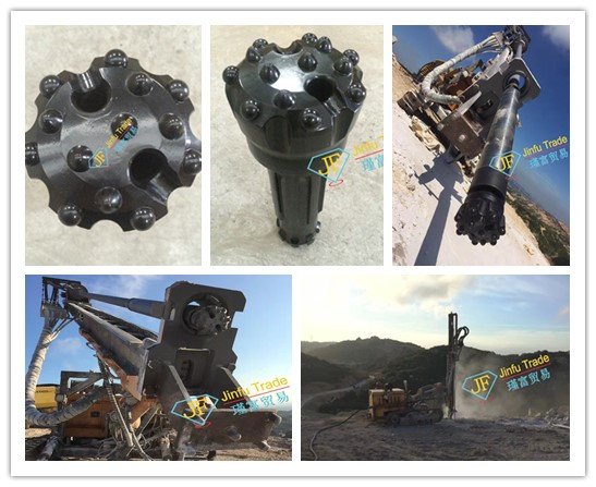 Sandvik  Atlas cop down the hole drill bits for quarry drill hole