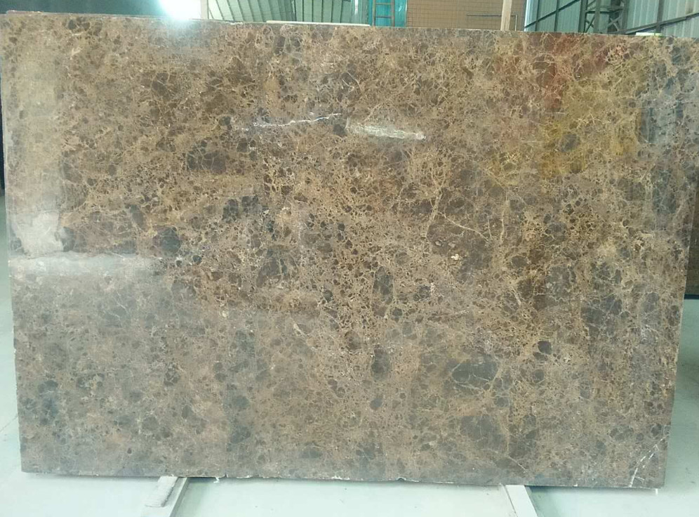 Dark Emperador Brown Marble Slabs