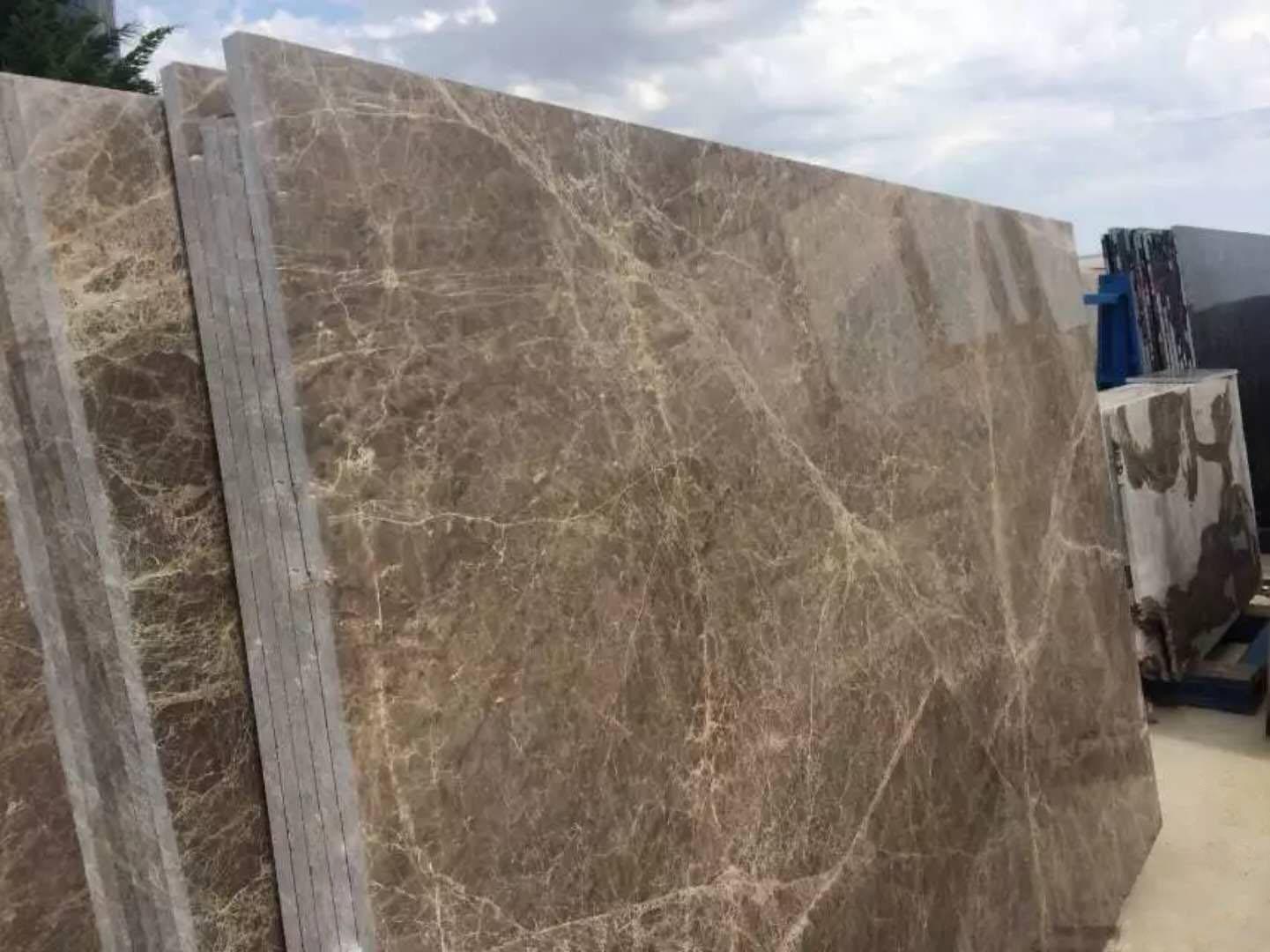Dark Emperator marble slab