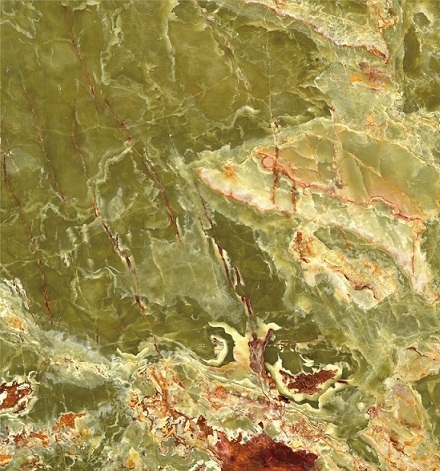 Dark Green Onyx Slab and tiles