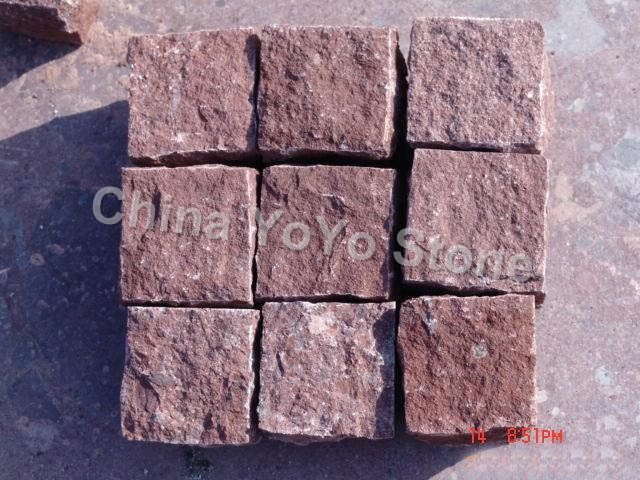 Dayang red cubestonecobble