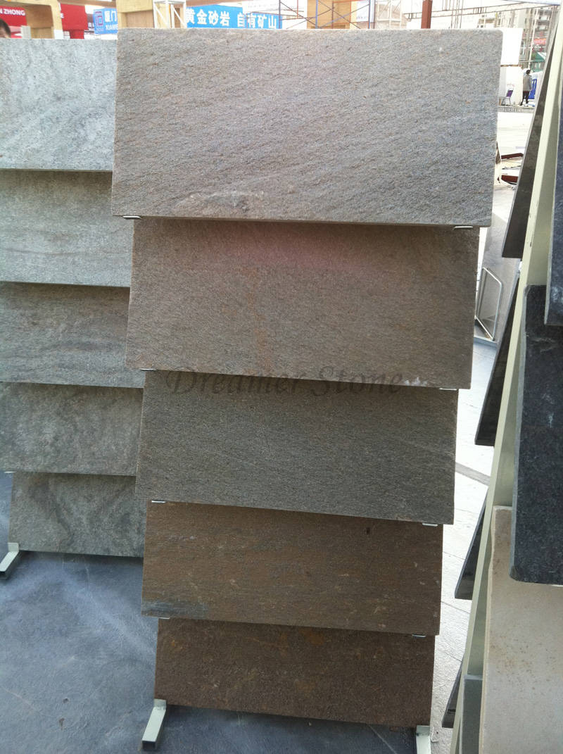 Exterior quartzite culture stone wall tiles