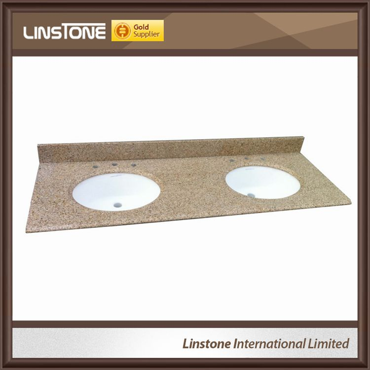 Popular Wholesale Granite Bathroom Vanity Top