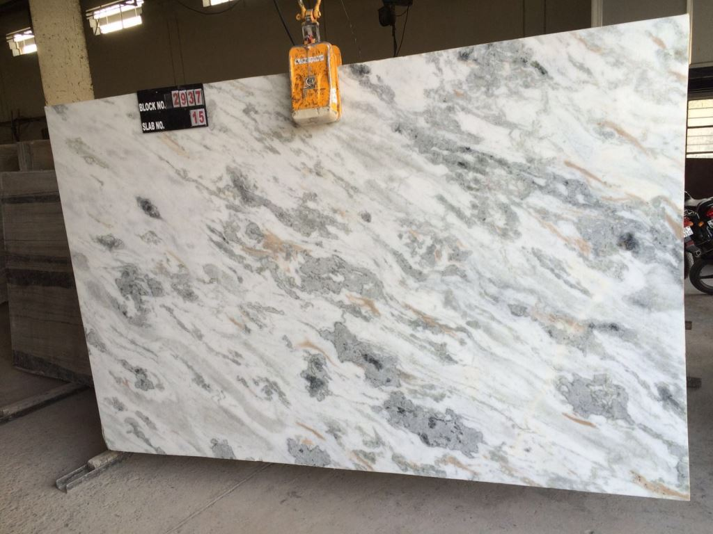 Indian Dharmeta White Marble