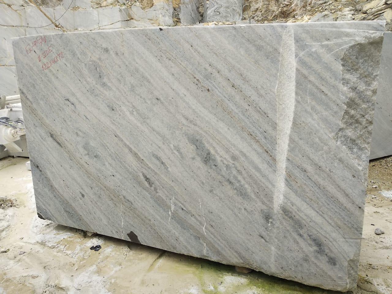 Dock brown marble block