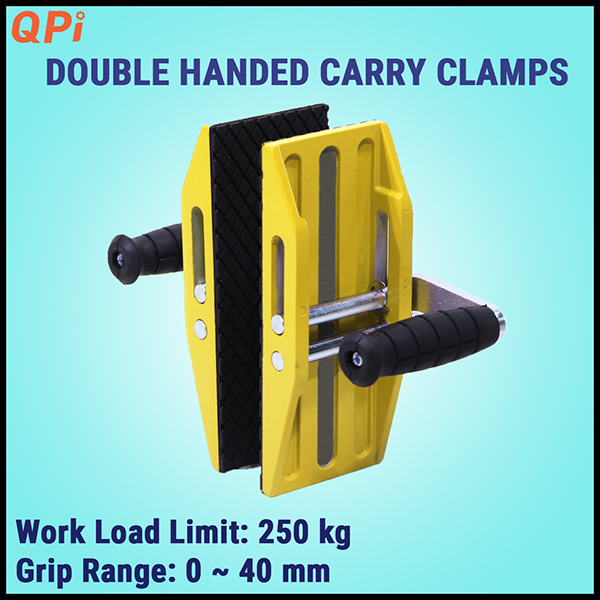 Double Handed Carry Clamps