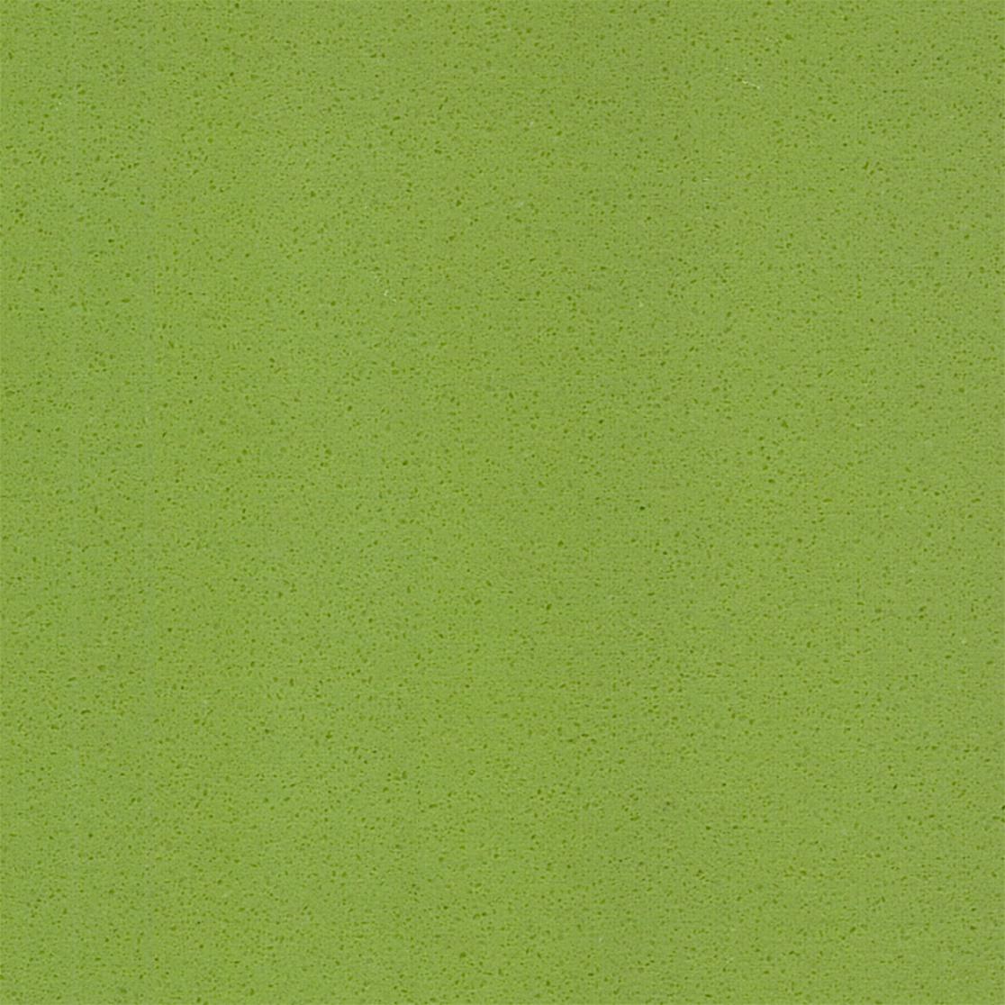 Apple green engineered quartz stone