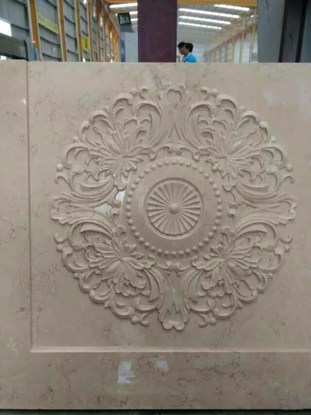Egypt Cream marble carving