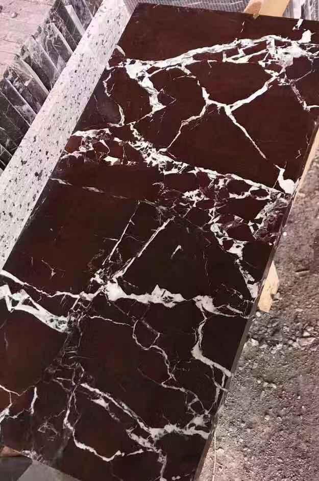 Rosso Levanto Marble Tiles