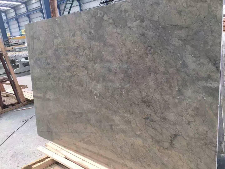 Emerald Pearl Marble slab