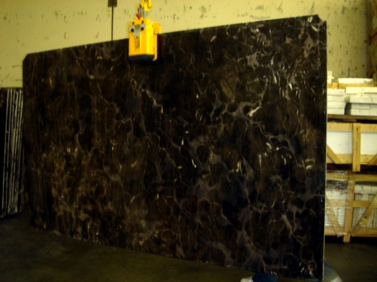 China Dark Emperador Marble Tile & Slabs