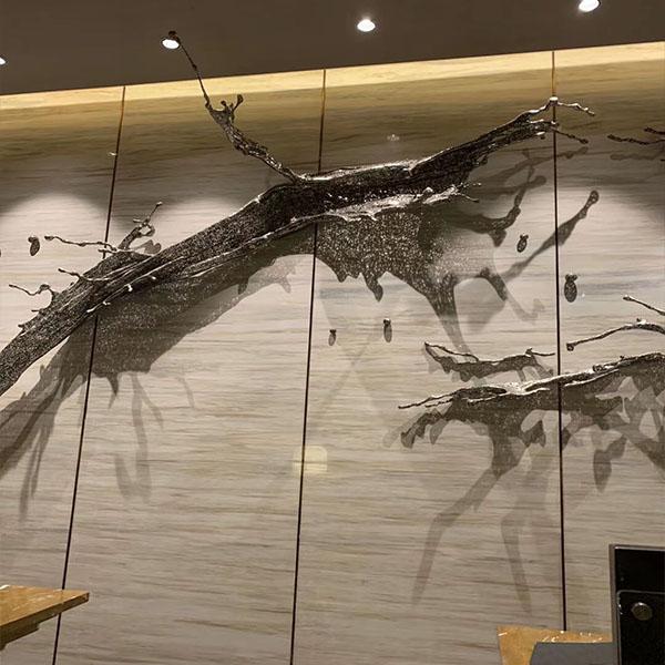 Eurasian wood grain marble tiles