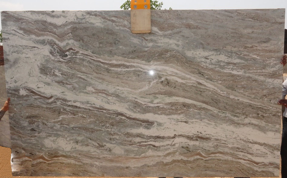 FANTASSY BROWN marble slabs