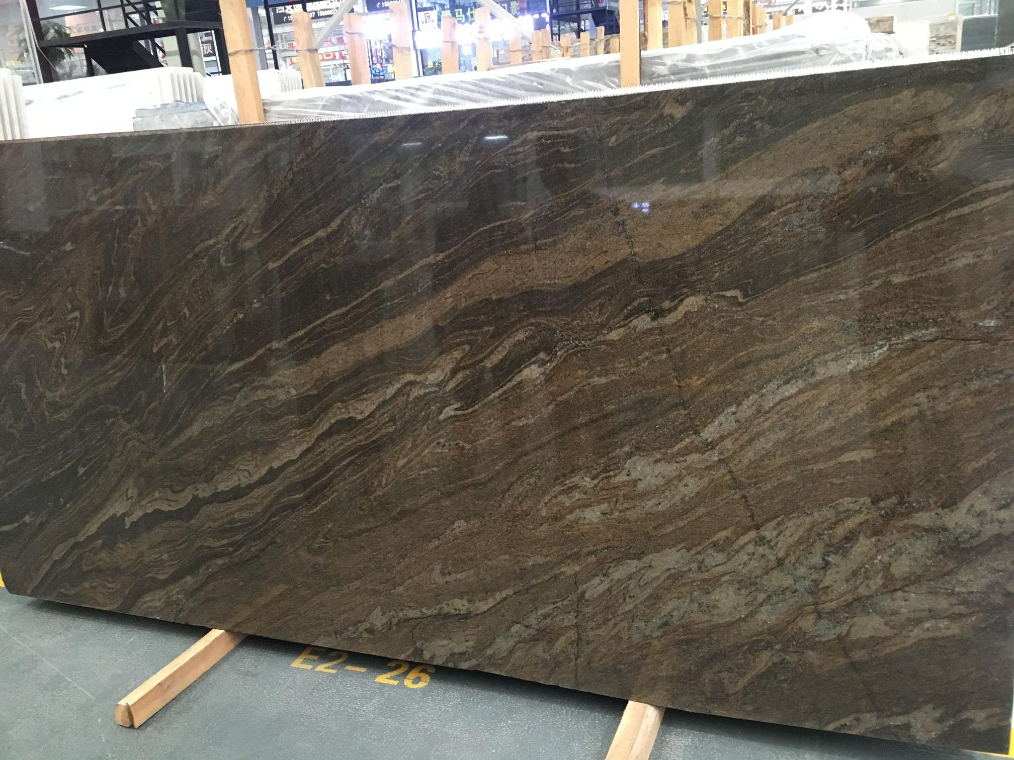 Fantasy Brown Granite Polished Brown Slab