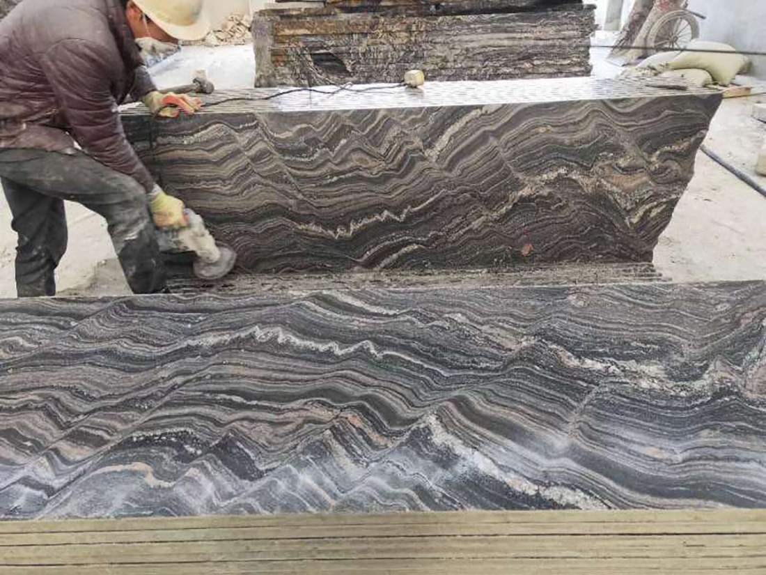 Fantasy Danube Granite Polished Slabs
