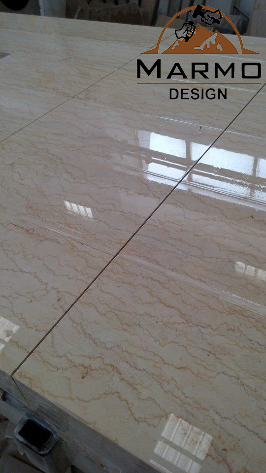 Feletto Polished Beige Marble Tiles