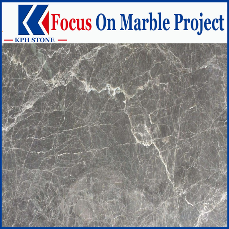 Fior di Pesco Grigio Marble slabs for luxury hotels decorative
