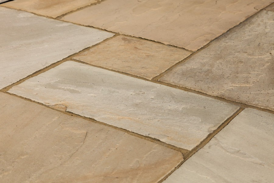Fossil Mint Indian Sandstone Tiles