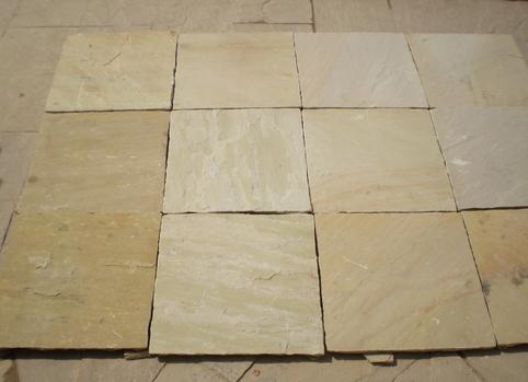 Fossil Sandstone Tiles