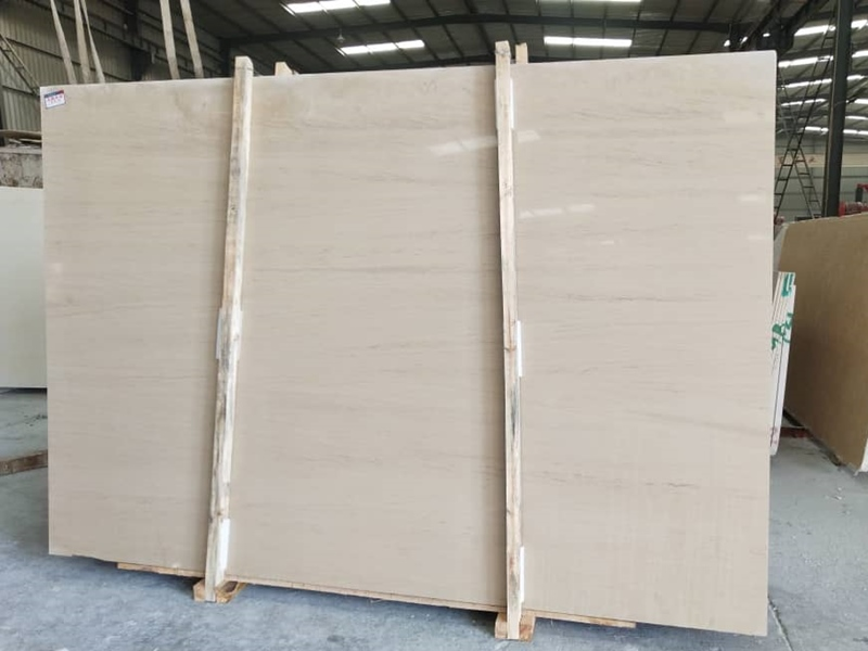 France Limestone Slabs Beige Limestone Slabs Moca Cream Medium Limestone