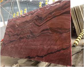 Fusion Red Granite Slabs