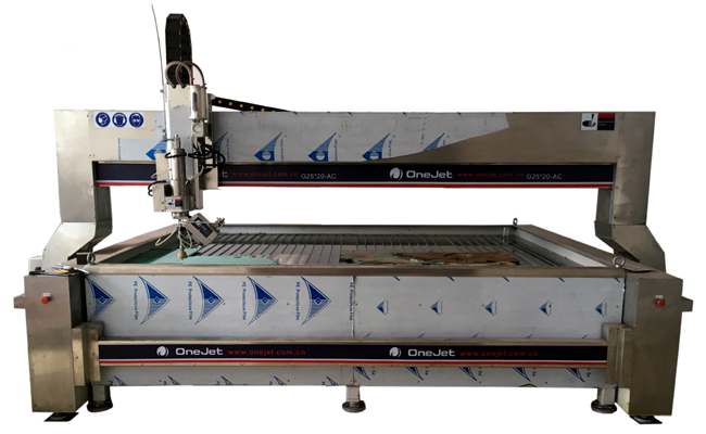 Onejet Waterjet Cutting Machine for all stone cutt