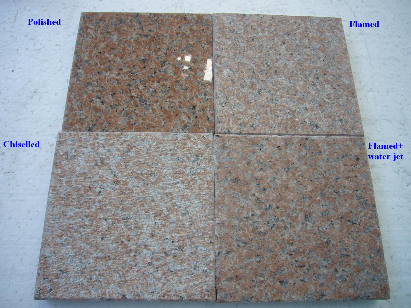 G386 Chinese Red Granite Tiles