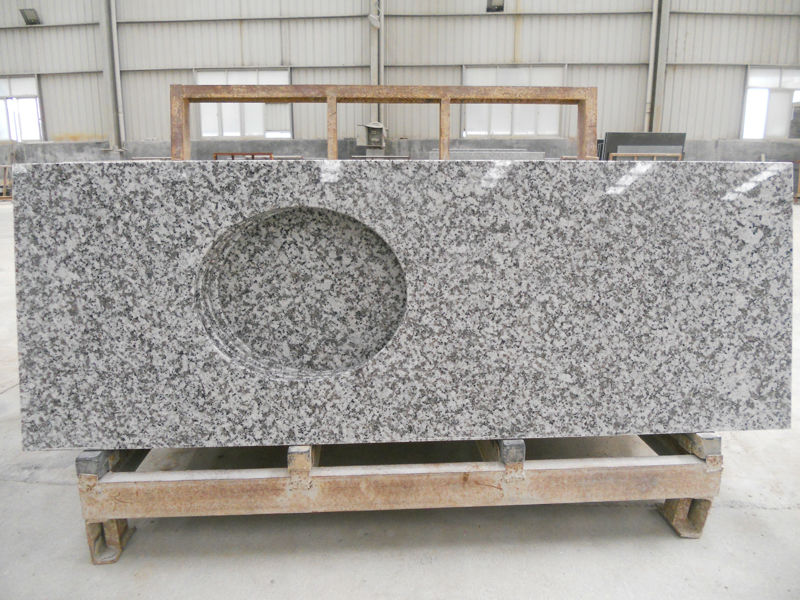 G439 Pauline Grey Granite Vanity Tops